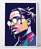 ASAP Rocky Limited Poster Artwork - Professional Wall Art Merchandise (More (8x10)