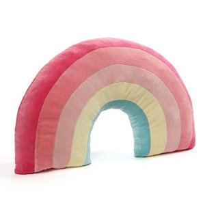 GUND Rainbow Pillow Stuffed Animal Plush, 24″ 41XQiWXdVNL