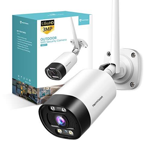 HeimVision-2K-Outdoor-Security-Camera-Wi-Fi-Smart-Camera-with-Floodlight-Color-Night-Vision-2-Way-Audio-Motion-Detection-Siren-Alarm-Message-Alert-MicroSDCloud-Storage-Weatherproof-HM311