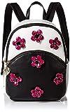 Betsey Johnson Mini Backpack, black/white