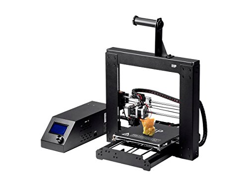 Monoprice 113860 Maker Select 3D Printer v2 with Large Heated 8' x 8' x 7' Build Plate, Ready To Print, Sample PLA Filament, 4GB MicroSD Card Preloaded with printable 3D Models.