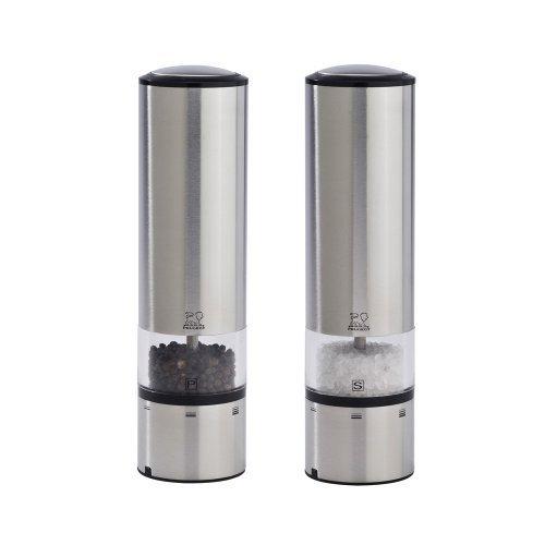 Peugeot Elis Sense u'Select Electric Salt & Pepper Mill Set - Stainless