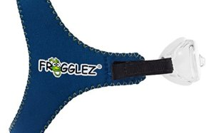 Blue COMFORTABLE Swimming Goggles for Kids - Frogglez Swimming Goggles Are Hassle Free And Top Rated By Swim Instructors!