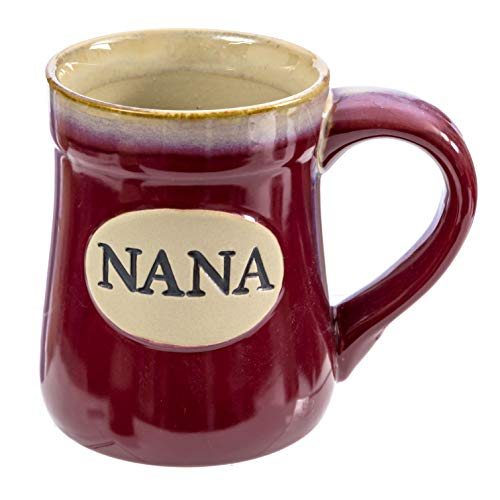 Nana Coffee Mug Porcelain - 18 Ounce -  My Claim To Joy Love and Legacy - Burton and Burton