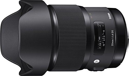 Sigma 20mm F1.4 ART DG HSM Lens for Canon