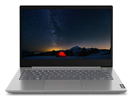 Lenovo ThinkBook 14 Intel Core i5 10th Gen 14-inch Full HD Thin and Light Laptop (8GB RAM/ 1TB HDD/ Windows 10 Home with Lifetime Validity/ Mineral Gray/ 1.49 kg), 20RV00DDIH 1
