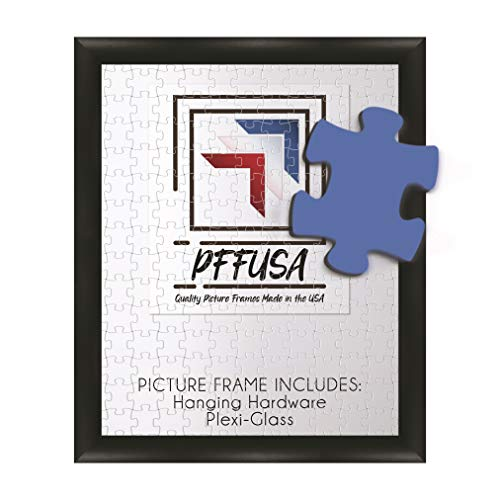 Puzzle-Frame-Picture-Frame-Poster-Frame-125-Inch-Black-MDF-Frame-Plexi-Glass-and-Hanging-Hardware-Included-Many-Popular-0875x12