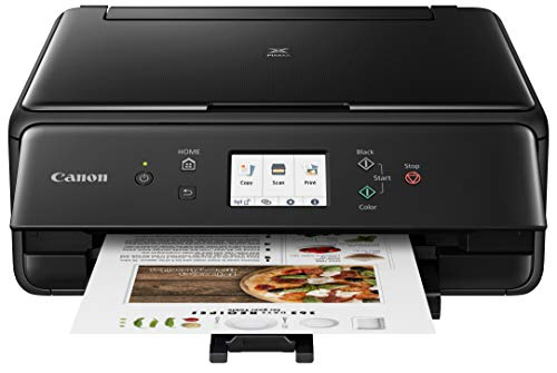 Canon 2986C002 PIXMA TS6220 Wireless All in One Photo Printer with Copier, Scanner and Mobile Printing, Black