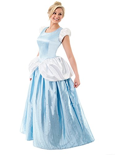 Little Adventures Deluxe Women's Cinderella Dress-Up Costume