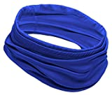12-in-1 Cooling Headwear - UPF 30 Versatile Outdoors & Daily Headwear - 12 Ways to Wear Including Headband, Neck Wrap, Bandana, Face Mask, Helmet Liner. Performance Moisture Wicking