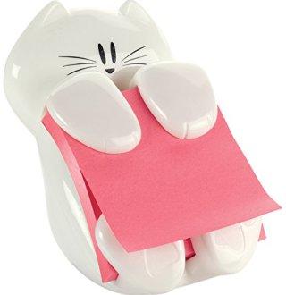 Post-it Cat Figure Pop-up Note Dispenser, 3 inch x 3 inch