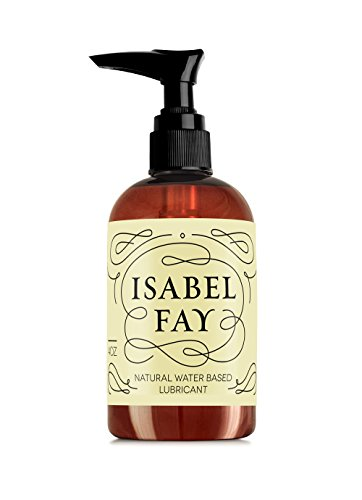 Natural Intimate Personal Lubricant for Sensitive Skin, Isabel Fay – Water Based, Discreet Label – Best Personal Lube for Women and Men – Made in USA – Natural Personal Gel Without Parabens or Glycerin