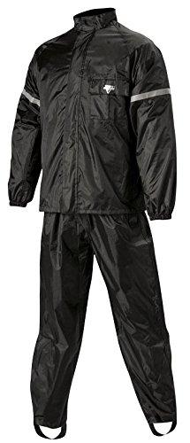 Nelson Rigg WeatherPro Rainsuit (Black, Medium), 2 Piece