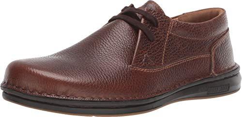 Birkenstock New Men's Memphis Oxford Dark Brown Leather 42 R