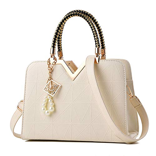 Summer Female Bag Phone Pocket Zipper Woman Handbags Flap Leather Women Shoulder Crossbody Bag,white