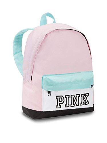 Victoria's Secret PINK Everyday Backpack, Pink/Jetstream Blue