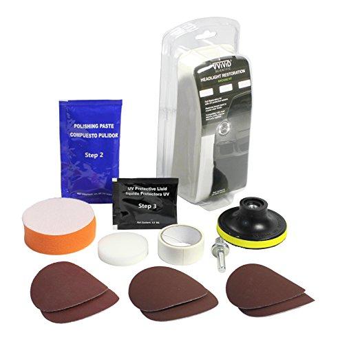 VViViD Do-It-Yourself Headlight Restorer Kit