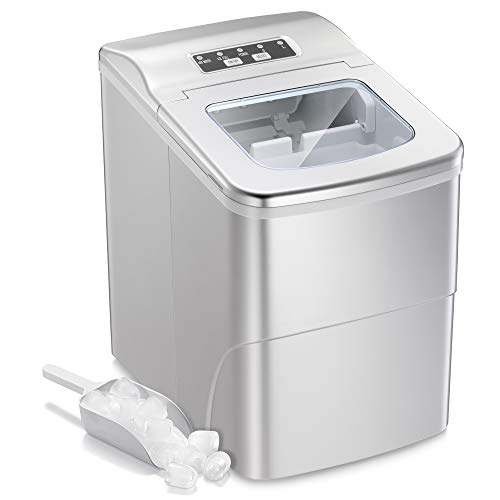 AGLUCKY Portable Ice Maker Machine