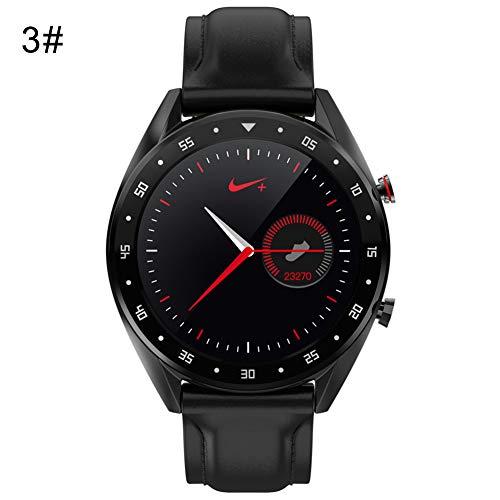 NarutoSak Microwear L7 Waterproof Heart Rate Blood Pressure Monitor Bluetooth Smart Watch 3#