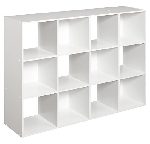 ClosetMaid 1290 Cubeicals 12-Cube Organizer, White