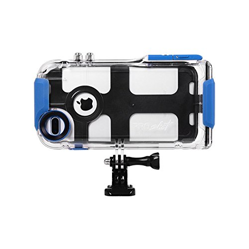 ProShot Waterproof and GoPro Mountable Case for iPhone 8 Plus 7 Plus and 6 Plus