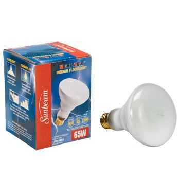 (6 Pack) - 65-watts Br30 Indoor Flood Light Bulb