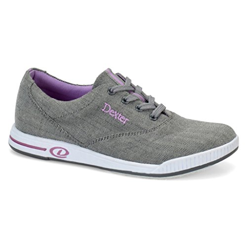 Dexter Womens Kerrie Bowling Shoes (9 1/2 M US, Grey Twill)