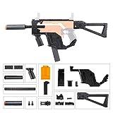JGCWorker Mod Kit Set for Nerf Stryfe Blaster Toy Upgrade Using Soft Darts Color Black
