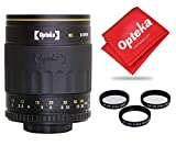Opteka 500mm f/8 High Definition Telephoto Mirror Lens for Canon EOS 80D, 77D, 70D, 60D, 60Da, 50D, 7D, 6D, 5D, 5DS, 1DS, T7i, T7s, T7, T6s, T6i, T6, T5i, T5, T4i, T3i, T3, SL2 and SL1 DSLR Cameras