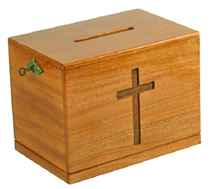 Image result for offertory box