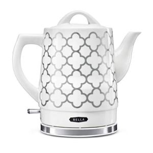 BELLA (14745) 1.5 Liter Electric Tea Kettle Silver Tile