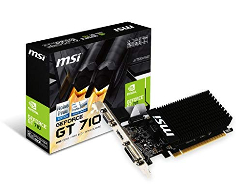 MSI GT 710 2GD3H LP DDR3 Gaming Graphic Card 75