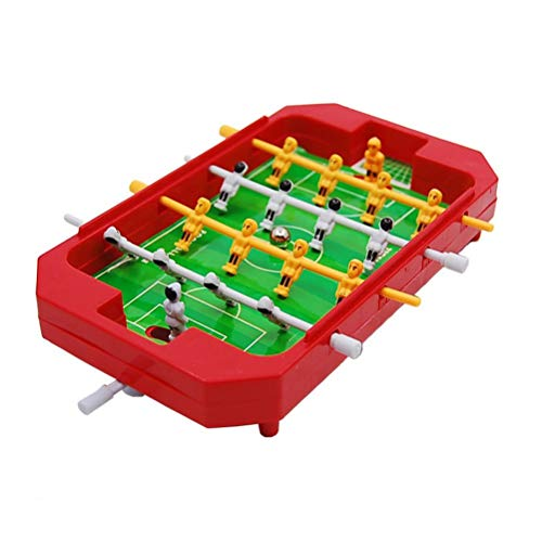 KODORIA Foosball Table Mini Table Top Football Foosball Players Family Fun Game Toy Kids Play Set...