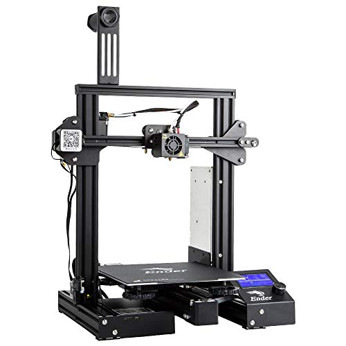 Comgrow Creality Ender 3 Pro 3D Printer with Upgrade Cmagnet Build Surface Plate and UL Certified Power Supply 8.6' x 8.6' x 9.8'