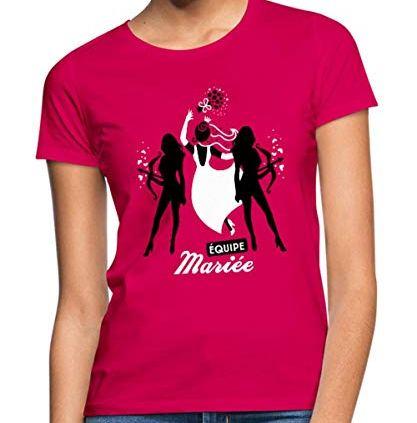 Spreadshirt-EVJF-quipe-Marie-T-Shirt-Femme