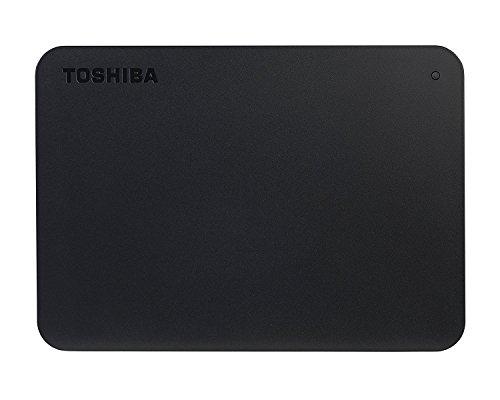 41YJ0o7hAcL - Toshiba Canvio Basics 1TB Portable External Hard Drive USB 3.0 for PC, Xbox, PS4. HDTB410EK3AA