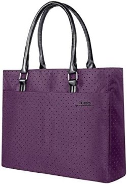 Laptop Tote Bag, DTBG 15.6 Inch Women Shoulder Bag Nylon Briefcase