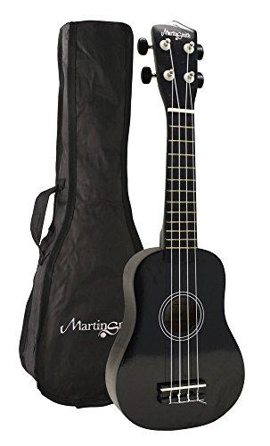 Martin Smith UK-212 - The ultimate Soprano Ukulele Starter kit, Black