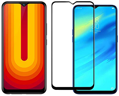 Vivo U10 Thunder Black (3GB+64GB) + Edge to Edge Tempered Glass 55