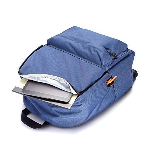 41YNBIusybL - AmazonBasics 21 Ltrs Classic Fabric Backpack - Navy