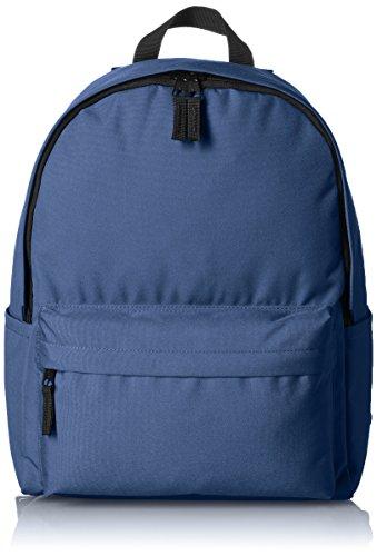 41YOP98WZBL - AmazonBasics 21 Ltrs Classic Fabric Backpack - Navy