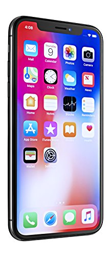 "Apple iPhone X, Fully Unlocked 5.8"", 256 GB - Space Gray"