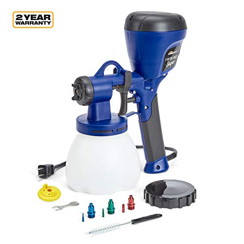HomeRight C800971.A Super Finish Max Power Painter Home Sprayer, HVLP Spray Gun for Painting Projects, Blue