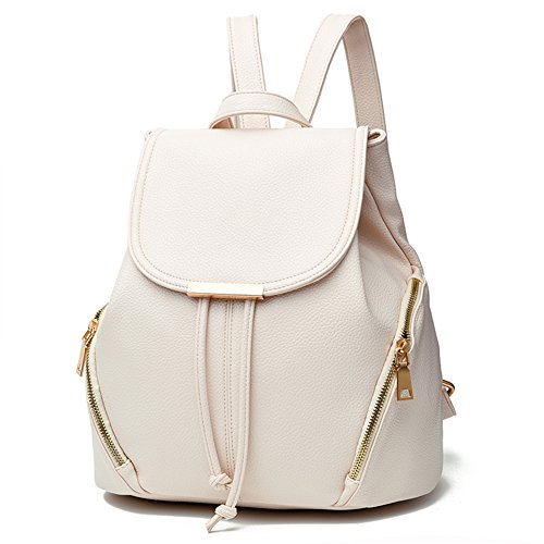 Z-joyee Casual Purse Fashion School Leather Backpack Shoulder Bag Mini Backpack for Women & Girls 1 Fashion Online Shop Gifts for her Gifts for him womens full figure