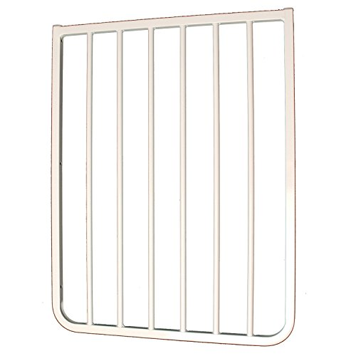 """21.75"""" Gate Extension Finish: White"""