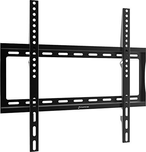 GForce Fixed TV Wall Mount - Ultra Slim, Super Flat, Fits Most 26'- 55' Flat Panel TVs, VESA Compatible - 30Kg/66LBS Weight Capacity – Black