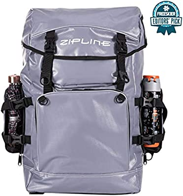 Amazon.com : Zipline World Cup Ski Boot Bag Backpack – Waterproof Skiing  and Snowboarding Travel Luggage – Stores Gear Including Jacket, Helmet,  Goggles, Gloves & Accessories - 2019 Model (Gray) : Sports & Outdoors