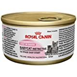 Royal Canin Feline Health Nutrition Baby Cat Instinctive Kitten Canned Cat Food by Royal Canin USA, Inc. (English manual)