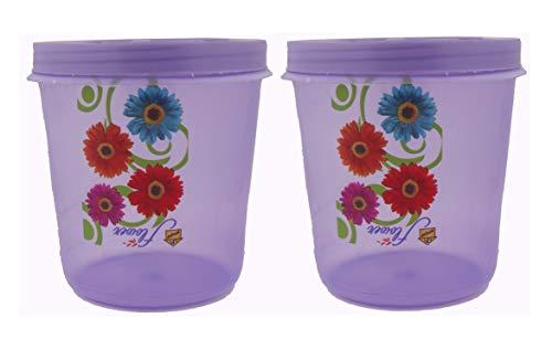41YjC2KXrUL - Plastic Box Masala and Multi purpse use Box Pack of 2, 250Ml Storage Multi Colour