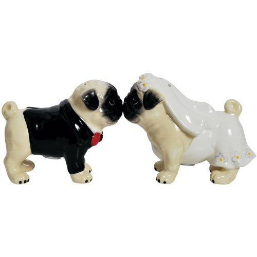 Pug Wedding Cake Toppers